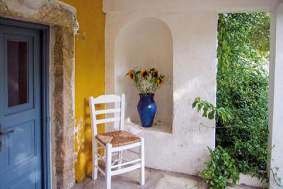 En Grèce: La Villa Clara s'exporte à Leros.