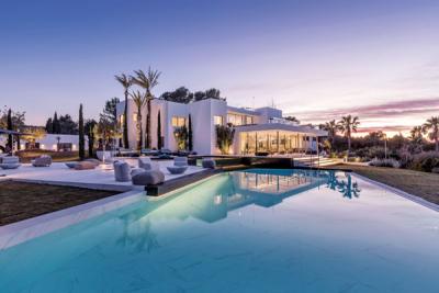 À Ibiza: Une autre idée du luxe.